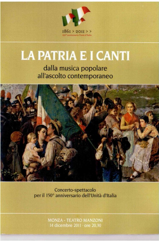 Concerto Teatro Manzoni di Monza